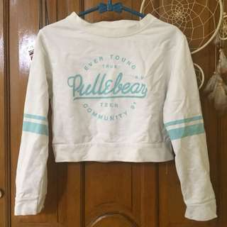 Sweater crop pull&bear