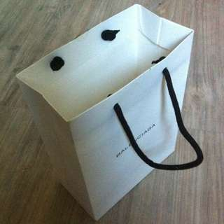 (半價) BALENCIAGA Paper Shopping Gift Bag 紙袋 禮物袋 (Half Price)