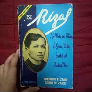 Life and Works of Jose Rizal