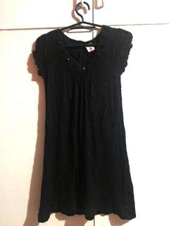 Black Dress for Girls 5-7 years old