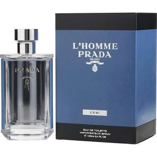 全新 Prada L'Homme L'eau By Prada EDT 100ml(不議價 fixed price)