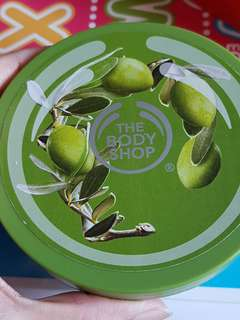 The body shop olive body butter original