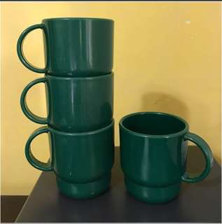 TUPPERWARE Microwave Safe Mugs (set of 4): Clearance Sales!!!