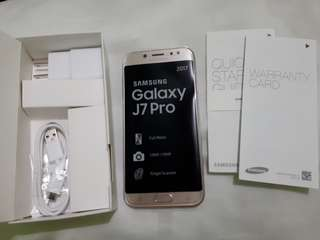 J7 Pro Gold 1week old FOR SALE ONLY