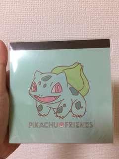 Pokémon Bulbasaur notepad