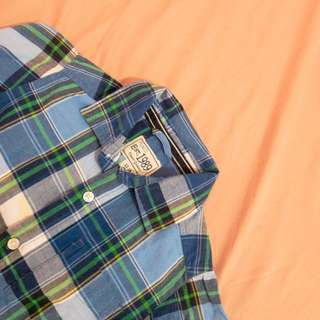 Blue Checkered Polo
