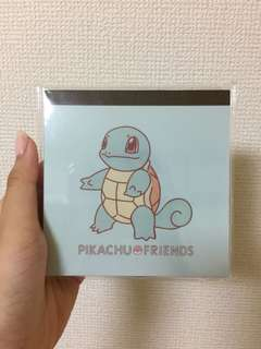 Pokemon squirtle notepad