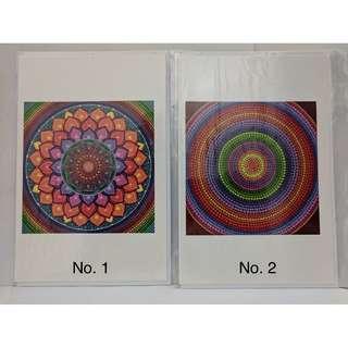 彩繪點畫 萬用賀卡 Dot Art Greeting Cards (Set 1)