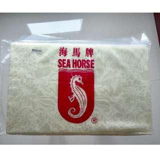 Seahorse cushion 56cm x 33cm x 4cm