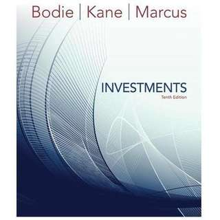 Investment 10th Edition (Bodie Kane Marcus) ebook