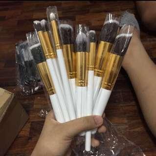 kabuki brush 10pcs set