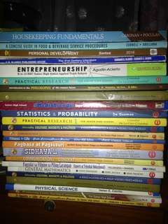 SHS Books for Grade 11 and 12