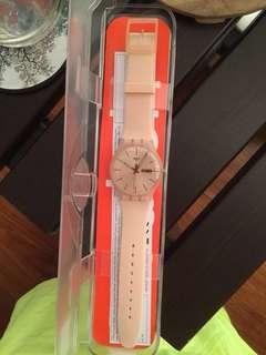 Original Water-Resistant Nude Swatch Watch