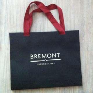 (半價) BREMONT Paper Shopping Gift Bag 紙袋 禮物袋 (Half Price)