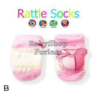 Anti-skid Rattle Socks - B