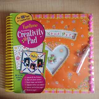 Kids' Scrapbook/Creativity Pad