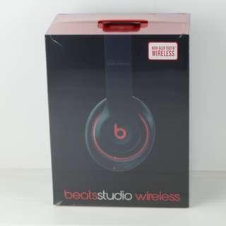 Beats studio Wireless 2.0 魔聲 錄音師二代 頭戴式降噪 耳麥耳機 黑紅