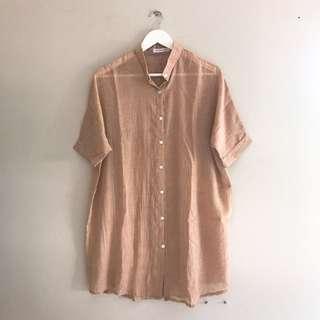 Free Ongkir Magnolia Linen Shirt Murah