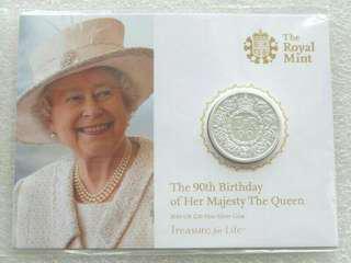 2016 Queens 90th Birthday £20 Twenty Pound Silver Coin Mint Pack