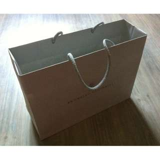 (半價) BRUNELLO CUCINELLI Paper Shopping Gift Bag 紙袋 禮物袋 (Half Price)