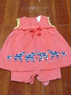 Baby dress 6-12mos
