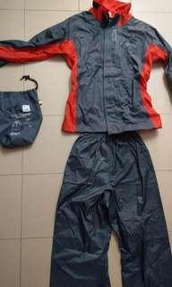 Authentic Givi RR01R Raincoat