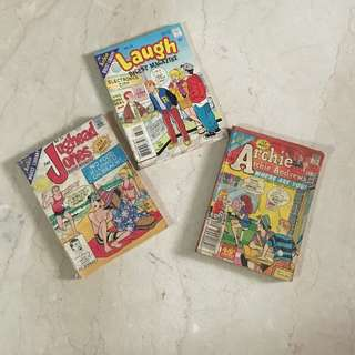 Archie, Laugh, Jughead Jones Digest Bundle