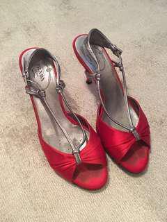 🚚 Prada 高跟涼鞋 35.5號