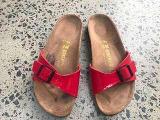 Authentic Birkenstock Madrid Patent Sandals