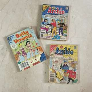 Archie, Betty and Veronica Digest Bundle