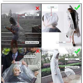 Eva Raincoat Hooded