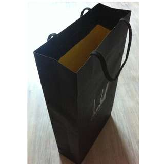 (半價) DUNHILL LONDON Paper Shopping Gift Bag 紙袋 禮物袋 (Half Price)