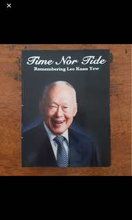 TIME NOR TIDE dvd set - remembering lee kuan yew