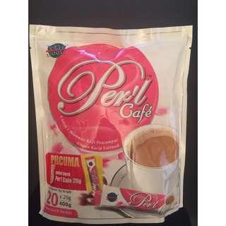 🚚 現貨-馬來西亞🇲🇾perl cafe卡琪花蒂瑪kacip fatimah女性咖啡20g*20包(4合1)