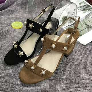 Leather sandals (Size 35  to 39)