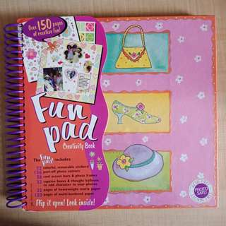 Kids' Scrapbook/Creativity Book 2