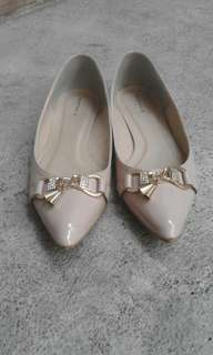 Heatwave pointyflat shoes