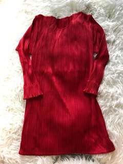 Issey Miyake red top