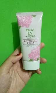 BIORE UV Aqua Rich Botanical Peony Limited Edition