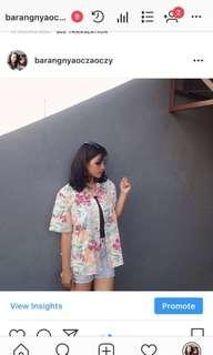 Tropical Shirt (beach top)