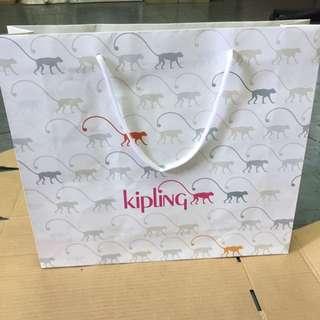 kipling paper bag