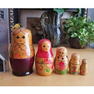Russian doll display