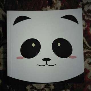 Buku Notes Panda