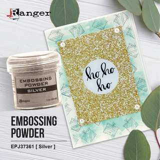 RANGER EPJ37361 Embossing Powder 1oz (34ml) -SILVER