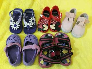 Old navy, mini melissa, zippy and unbranded sandals shoes/sandals