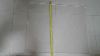 5mm厚透明膠板(長75.寬60cm)