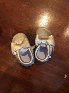 Baby girl shoes sepatu anak perempuan loafer slip on