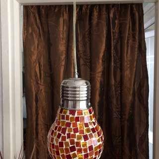 Pendant light handmade