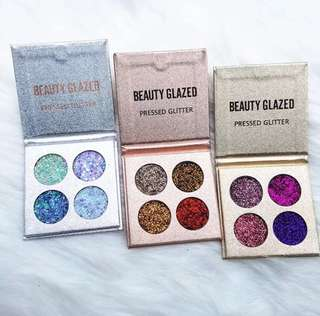 OPEN PO BEAUTY GLAZED PRESSED GLITTER 4 colors