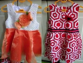 Dress baby 100rb dpt 2 pasang